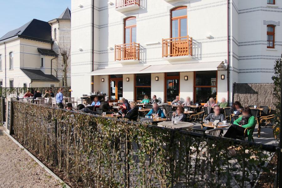 Villa de Torre De Haan visrestaurant